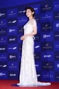 Park So Dam attending the 2015 Busan Film Critics Awards