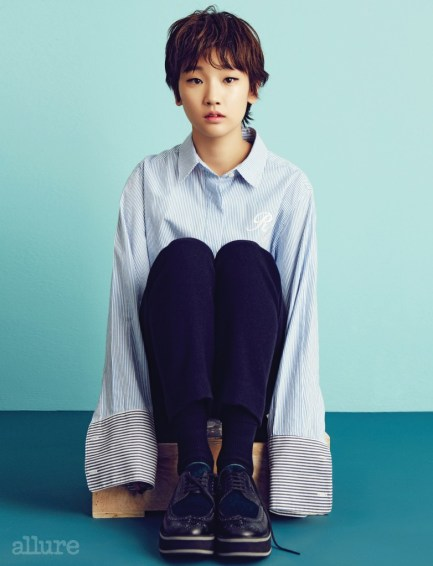 Park So Dam Gave a Pose for Photoshoots