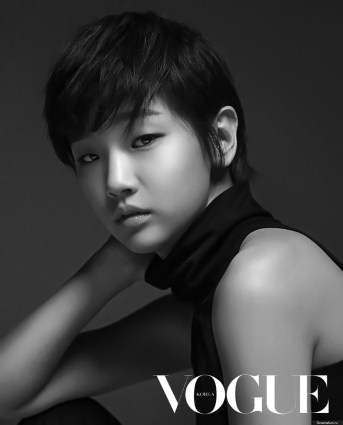 The Black and White Park So Dam for Vogue