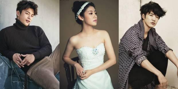 "Main Roles of Korean Drama ""Shopping King Louie"""