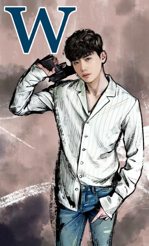 "K-Drama ""W"" Smartphone Wallpaper 3"