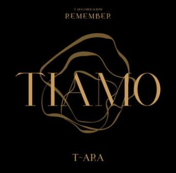 Cover Album Remember T-ARA 2016
