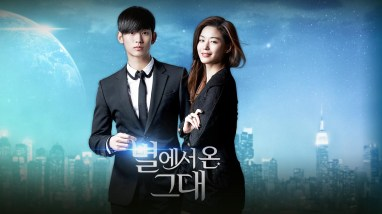 """Korean Drama """"My Love from the Star"""" Poster 2"""