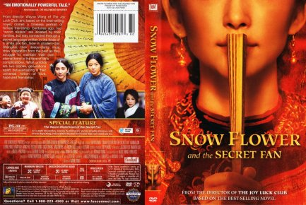 "Korean-China Film ""Snow Flower and the Secret Fan"" Poster"