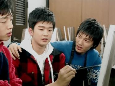 """Lee Min Ho in """"Sharp"""""""