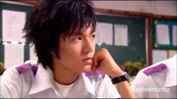 "Lee Min Ho in ""Secret Campus"""