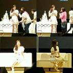 "Song Hye Kyo looked beautiful wearing a white dress in the first session of ""Song Hye Kyo 20th Anniversary Fan Meeting"""