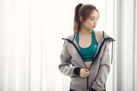 Lee Sung Kyung Photoshoot For Adidas