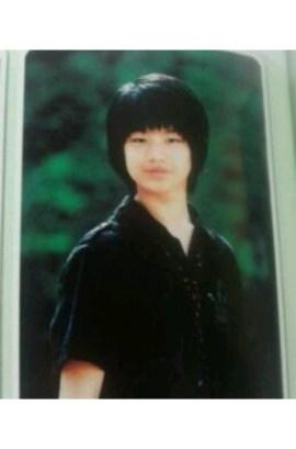 Yook Sung Jae Childhood Photo 2