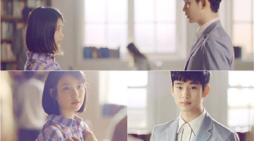 IU And Kim Soo Hyun In Ending Scene 2