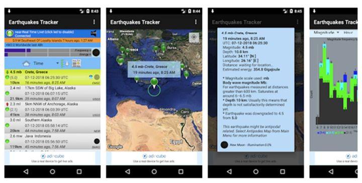 Aplikasi Mendeteksi Gempa Bumi