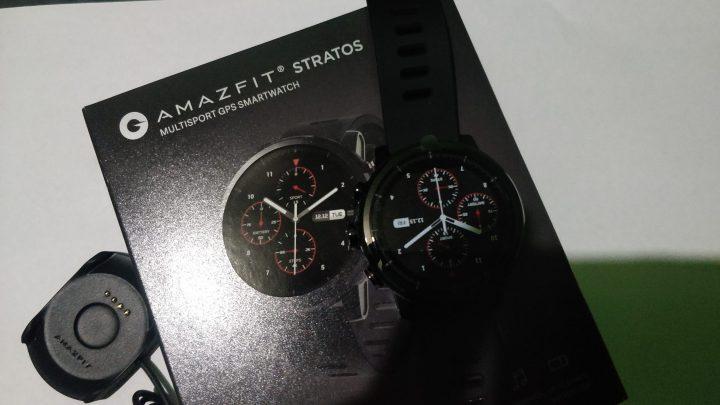 Unboxing Amazfit Stratos