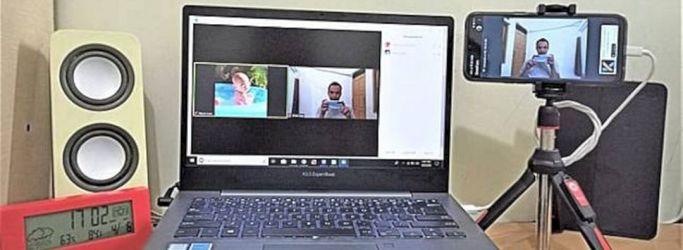 Cara Mudah Mengubah Kamera Smartphone Menjadi Kamera Laptop