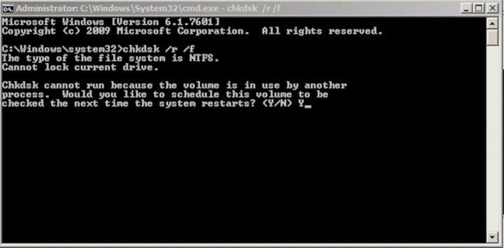 Memperbaiki Sistem Di Command Prompt