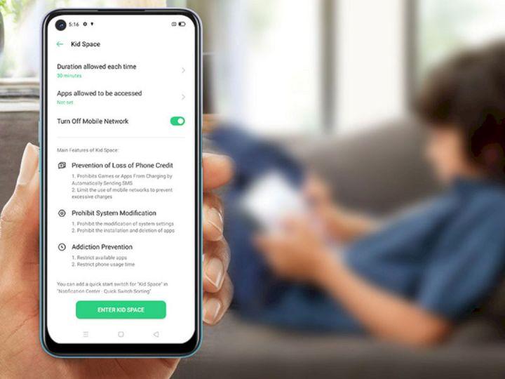 OPPO A92 Punya Fitur Khusus Untuk Mengontrol Smartphone Anak