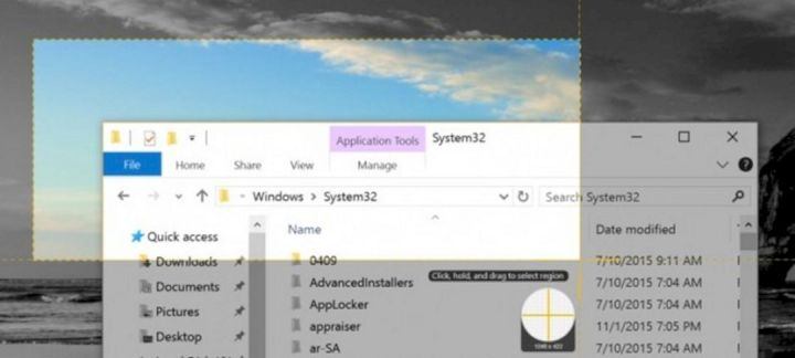 Screenshot Area Pada Windows 10