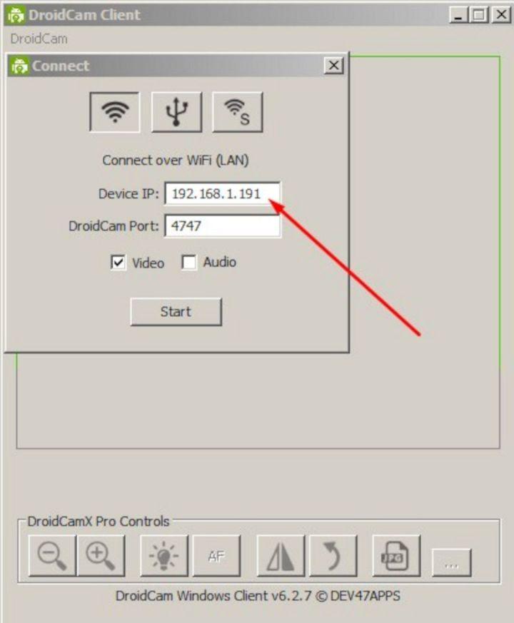 Setting DroidCam Di Laptop