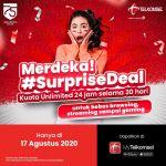 Paket Unlimited Telkomsel Spesial Kemerdekaan