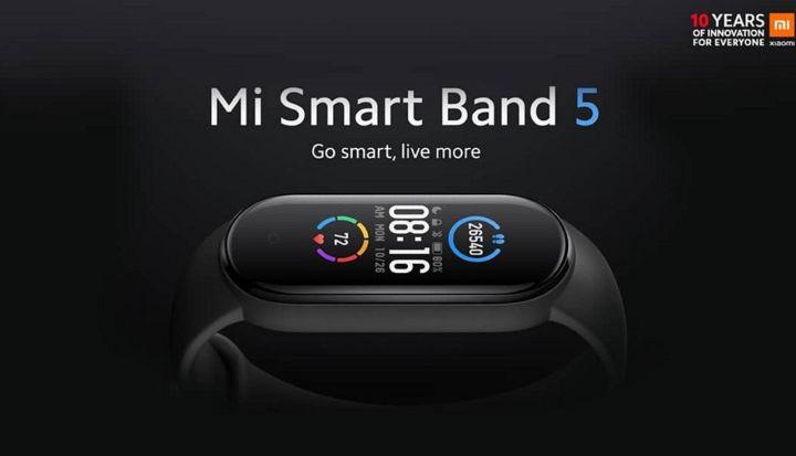 Smart Band 5 Resmi Dirilis