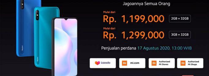 Xiaomi Redmi 9A Resmi Dirilis