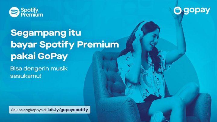 Cara Mudah Bayar Spotify Premium