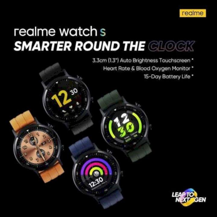 Bocoran Spesifikasi Realme Watch S