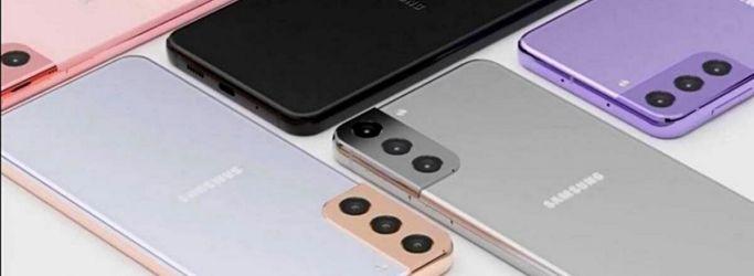 Desain Samsung Galaxy S21+