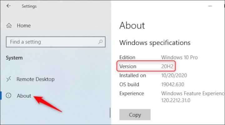 Versi Windows Yang Sedang Digunakan