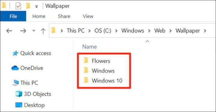 Wallpaper Default Windows 10