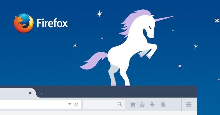 Game Unicorn Pong Di Firefox