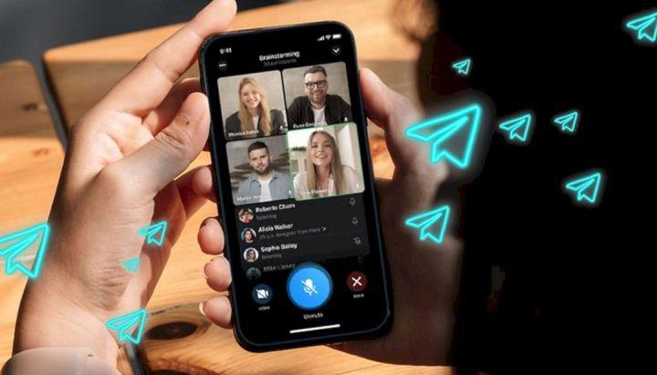 Cara Melakukan Panggilan Video Grup Telegram
