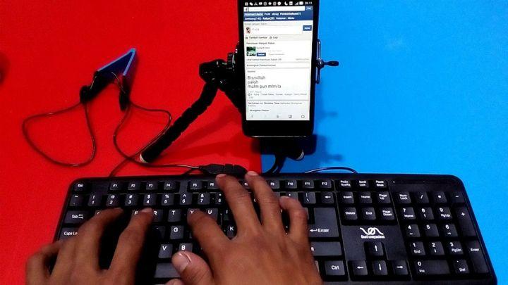 Cara Menggunakan Mouse Dan Keyboard Pada Android