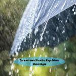 Cara Merawat Furnitur Kayu Selama Musim Hujan