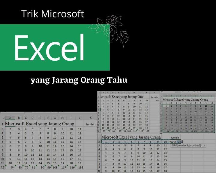 Trik Microsoft Excel Yang Jarang Orang Tahu 1