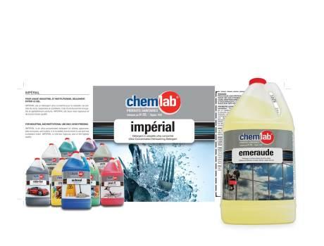 Les produits de nettoyage CHEMLAB