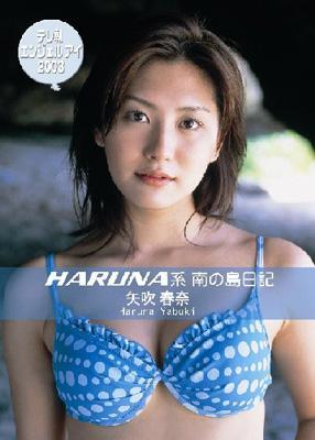 [AVBD-34131] Haruna Yabuki 矢吹春奈 テレ朝エンジェルアイ2003 HARUNA系南の島日記