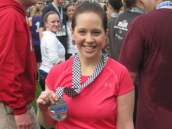 My 1st Half Marathon Medal!!!