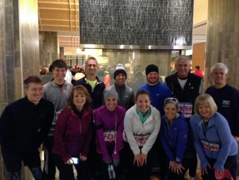 Indianapolis Monumental Half Marathon 2014