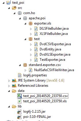 JavaBlog fr / Java lu - Java : Excel : XLS : Example of