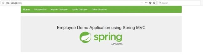 spring mvc app