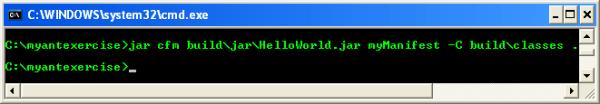The Java Ant hands-on tutorial on Windows machine