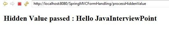 Spring_MVC_Form_HiddenValue_Success