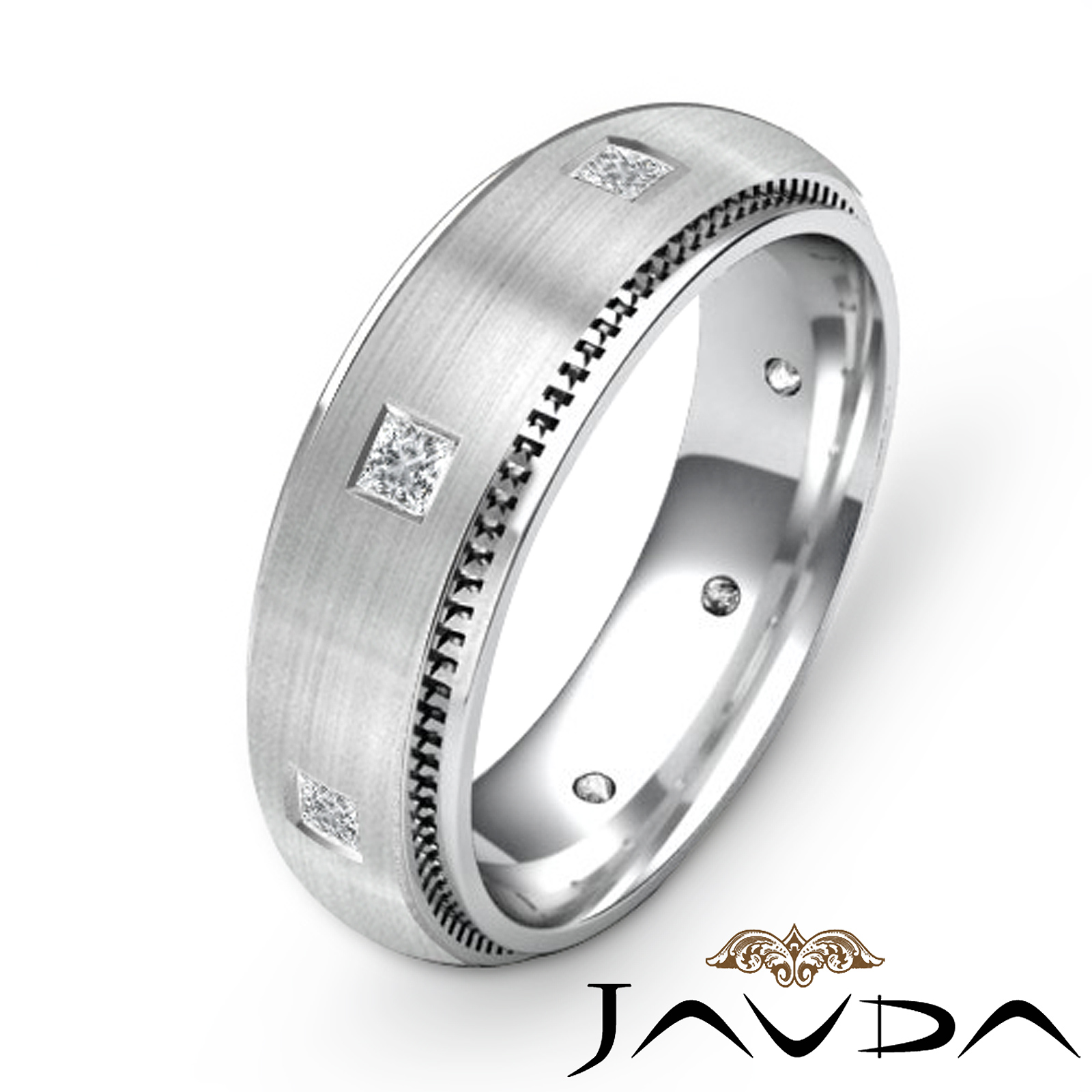 Diamond Wedding Bands Men Eternity Diamond Wedding Bands