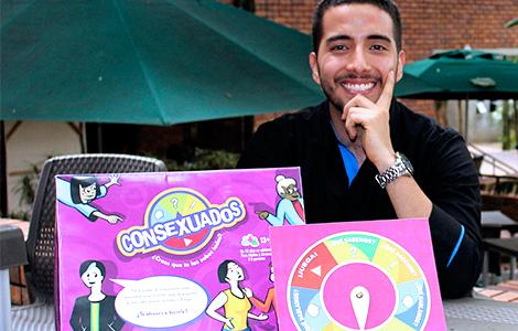 Juan Pablo Guzmán, comunicador de la JAveriana Cali y creador de Consexuados.