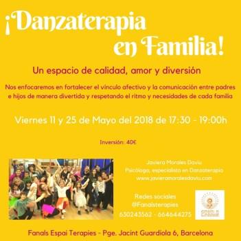 Danzaterapia en Familia