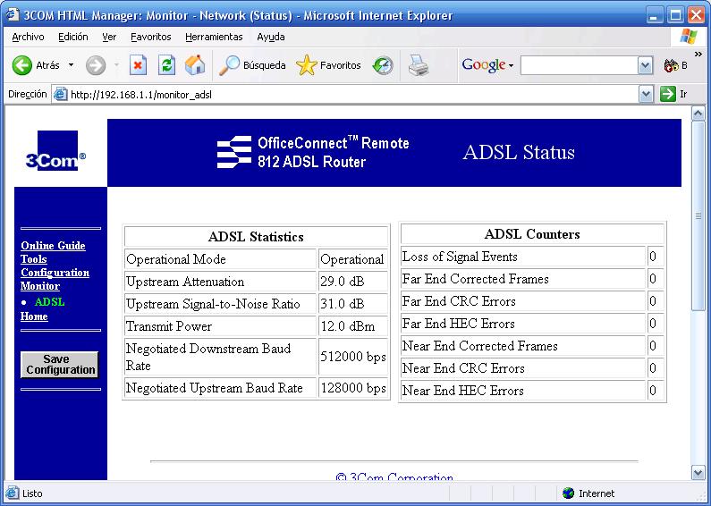 ADSL duplicado