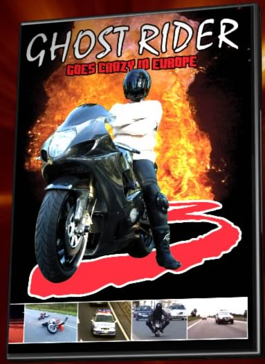 Ghost Rider Goes crazy in Europe
