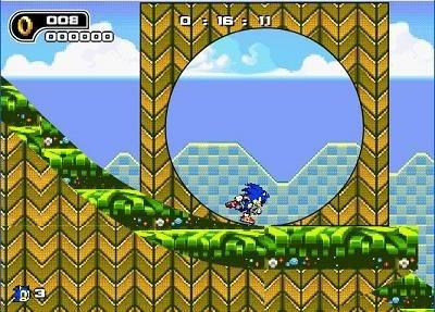 Sonic en Flash