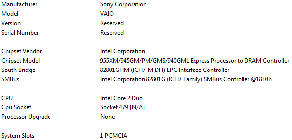 Sony VAIO AR13S