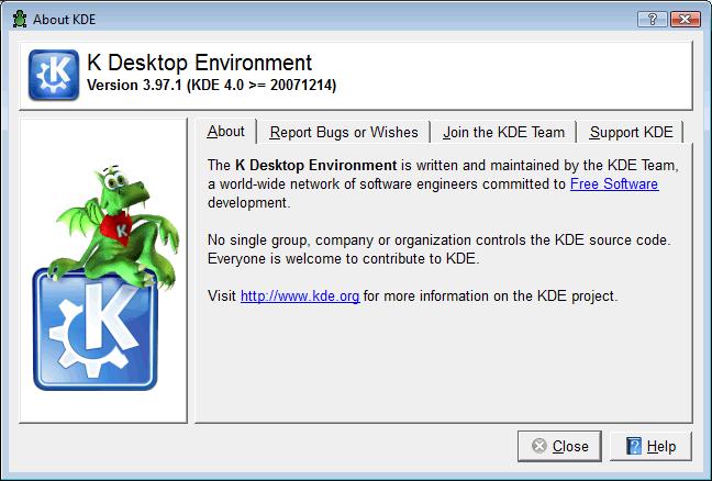 KDE 4 para Windows